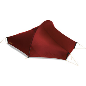 Nordisk Telemark 2 Light Weight Tiendas de campaña, burnt red